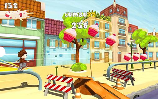 Arcade-Spiele Angelo: Skate away für das Smartphone
