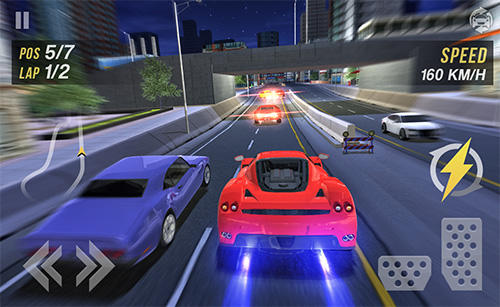 Turbo fast city racing 3D auf Deutsch