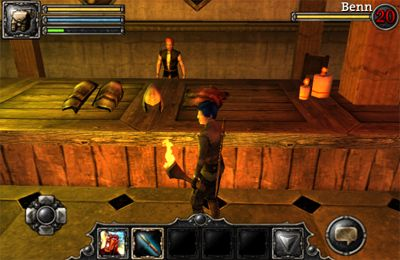 Multiplayer games: download Aralon: Sword and Shadow to your phone