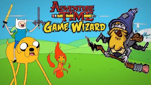 logo Adventure Time: Der Spielemagier
