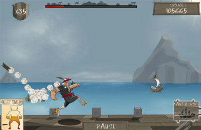 Arcade games: download Pirate : Cannonball Siege to your phone