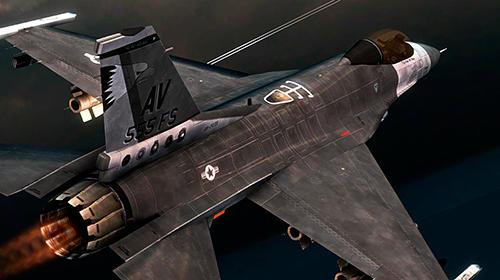 Simulation Wings of war: Modern warplanes für das Smartphone