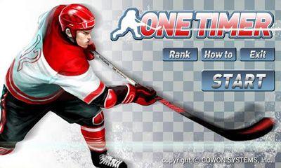 Ice Hockey - One Timer icono