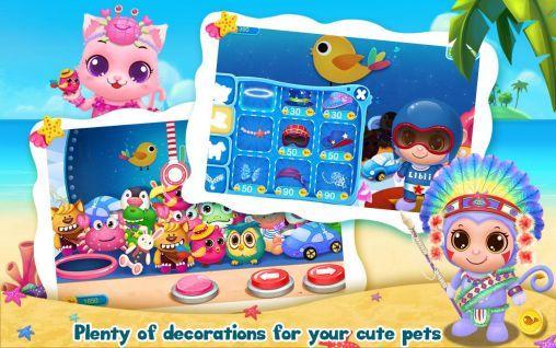 Juegos con mascotas Pet waterpark en español