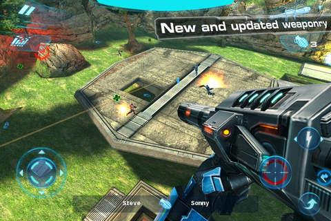 Screenshot N.O.V.A. 2 - Near Orbit Vanguard Alliance on iPhone
