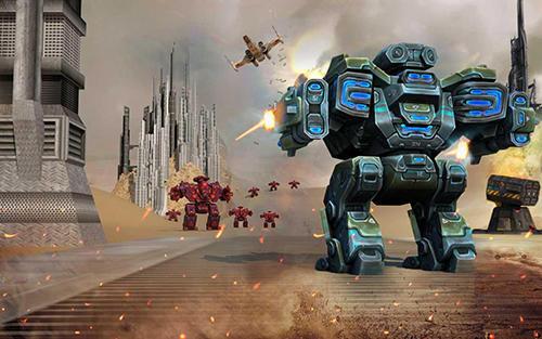 Futuristic war robots para Android