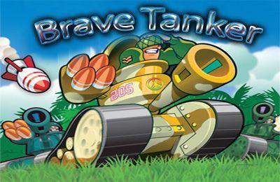 логотип Отважный Танкист
