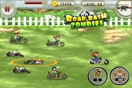 Road rash zombies for iPhone for free