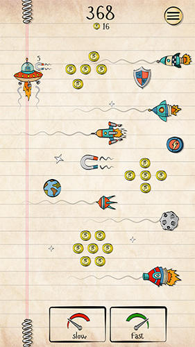 Doodle space: Lost in time für Android