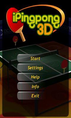 iPing Pong 3D Screenshot