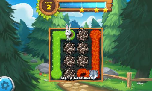 Puzzle games Forest home in English