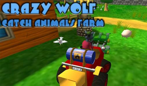 Crazy wolf: Catch animals farm icono