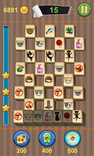Familien-Spiele Mahjong: Titan kitty auf Deutsch