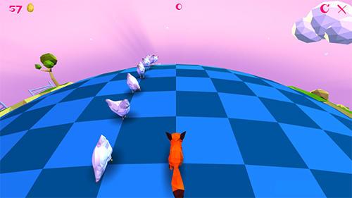 Arcade Good morning fox: Runner game für das Smartphone