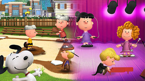 Peanuts. Snoopy's town tale: City building simulator Screenshot