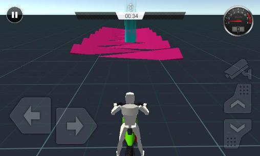 Arcade Motocross stunt trial für das Smartphone