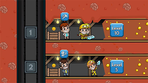 Idle miner tycoon in English