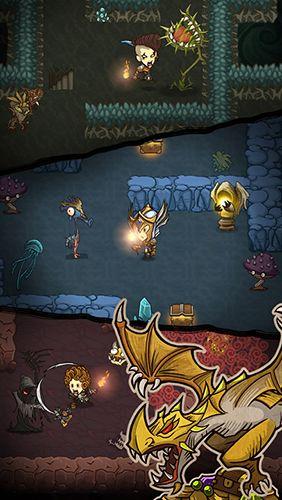 Arcade-Spiele: Lade Die Gierige Höhle auf dein Handy herunter