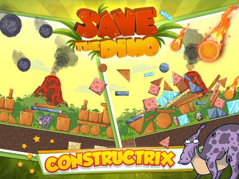 Arcade: Lade Rette den Dino auf dein Handy herunter