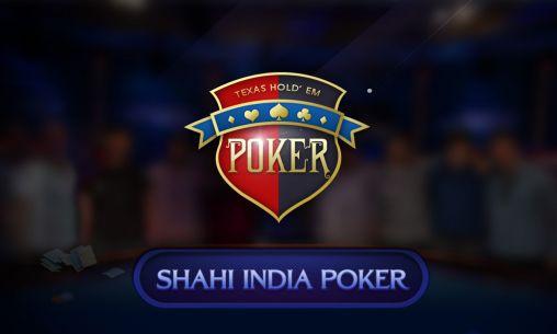 Shahi India poker icono