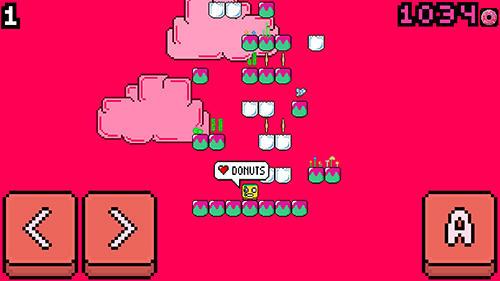 ピクセルゲーム Rage jump の日本語版