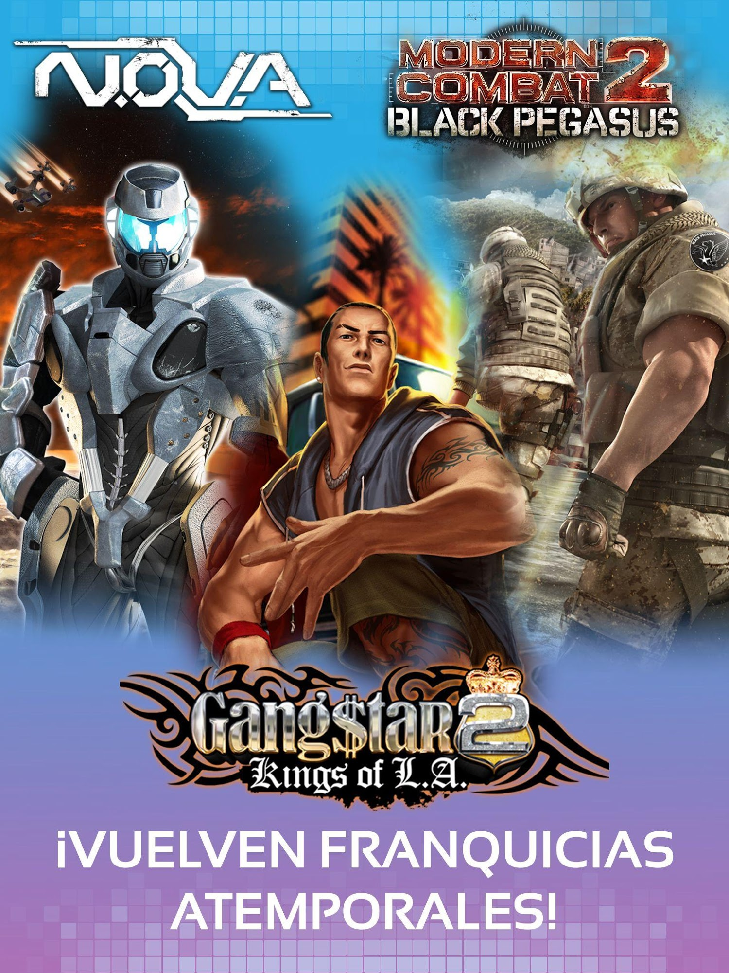 Gameloft Classics: 20 Years para Android