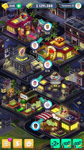 Tap tap capitalist: City idle clicker for Android