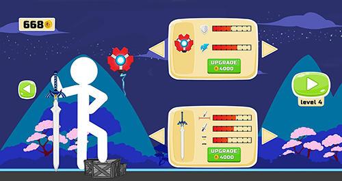 Arcade-Spiele Stickman fighter epic battle 2 für das Smartphone