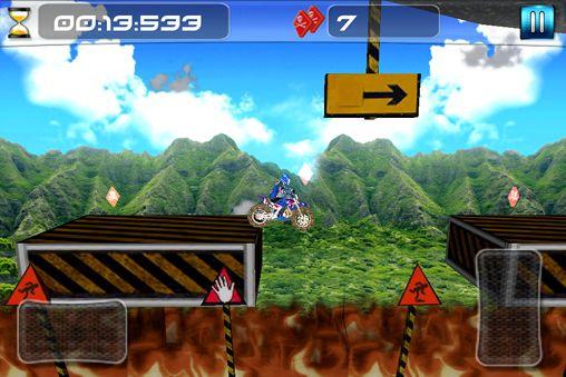 Juegos de arcade: descarga Moto cross imposible a tu teléfono