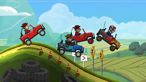 Hill racing games Hill climb racing 2 in English