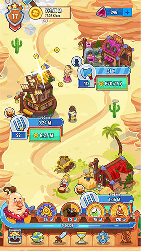 Tap! Tap! Kingdom: Idle clicker fantasy RPG for Android