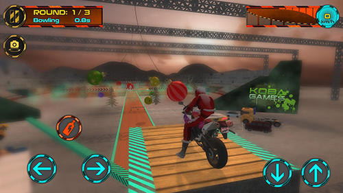 Crazy motorbike drive Screenshot