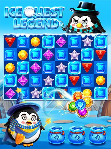 Arcades Ice quest legend pour smartphone