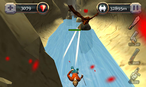 Canyon hunter: Run and shoot Screenshot