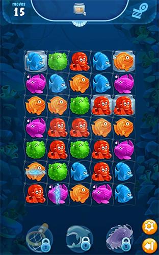 Arcade Viber mermaid puzzle match 3 für das Smartphone