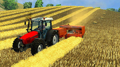 Farmer's tractor farming simulator 2018 скриншот 1