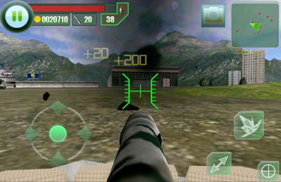 Screenshot The Last defender HD on iPhone