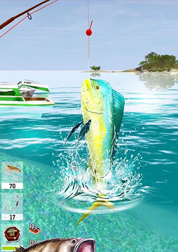 Arcade The fishing club 3D for smartphone