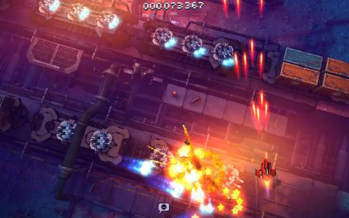 Arcade: download Sky force: Reloaded to your phone