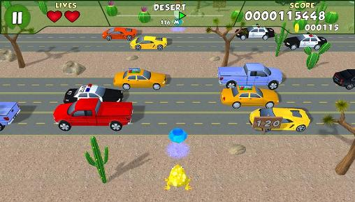 Arcade Frog race 2 for smartphone