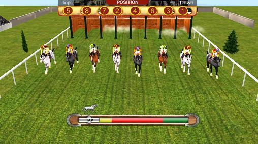 Horse racing simulation 3D für Android