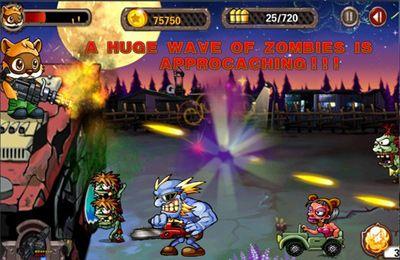 El extraordinario mapache contra los zombies para iPhone gratis