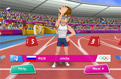 London 2012 - Offizielles Handy Spiel für iPhone