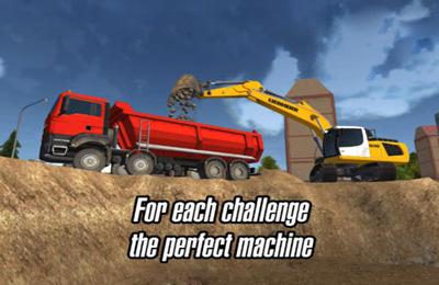 Screenshot Konstruktions Simulator 2014 auf dem iPhone