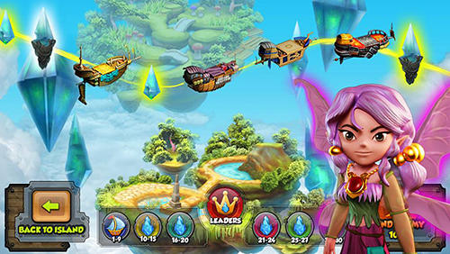 Heroes above: Sky clash для Android