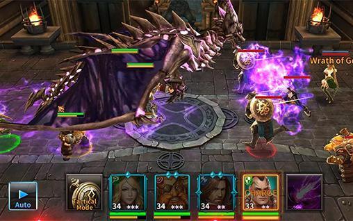 RPG Kingdom of war für das Smartphone