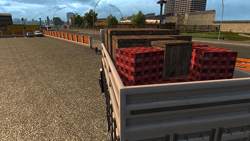 Truck driver simulation: Cargo transport скриншот 1