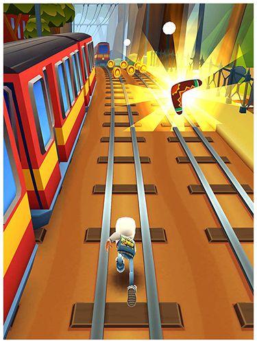 Jogos de arcade: faça o download de Surfistas de metrô: Sidney para o seu telefone