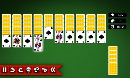 Juegos de mesa Spider solitaire 2 para teléfono inteligente