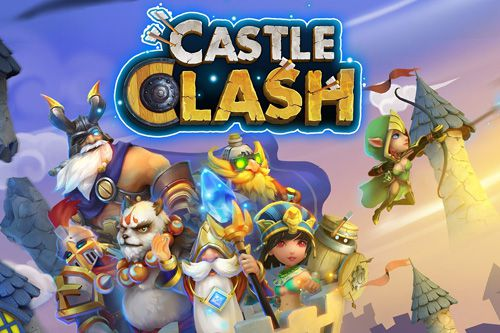 Screenshot Castle Clash auf dem iPhone